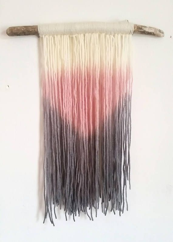 Hey, I found this really awesome Etsy listing at https://www.etsy.com/ca/listing/546998201/handman-tapestry-fibre-art-dip-dye-wall