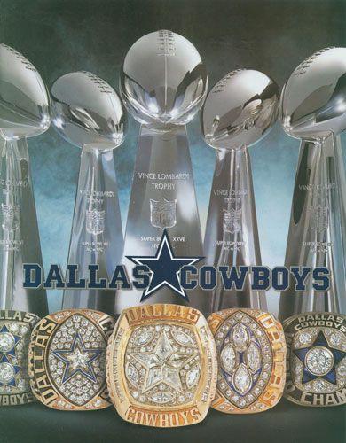 Dallas Cowboys 5 Time Superbowl Champs