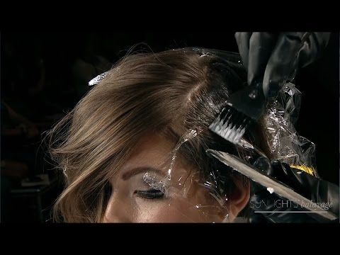 Sunlights® Balayage - Premiere Orlando Hair Color Stage - YouTube