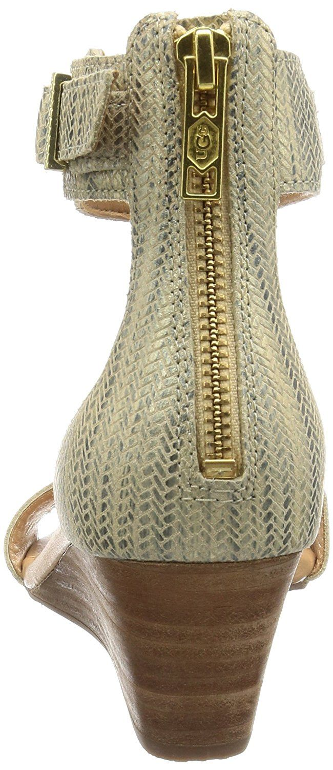 59ee4132b780d9 UGG Women s Char Metallic Wedge Sandal -- Find out more about the great  product at