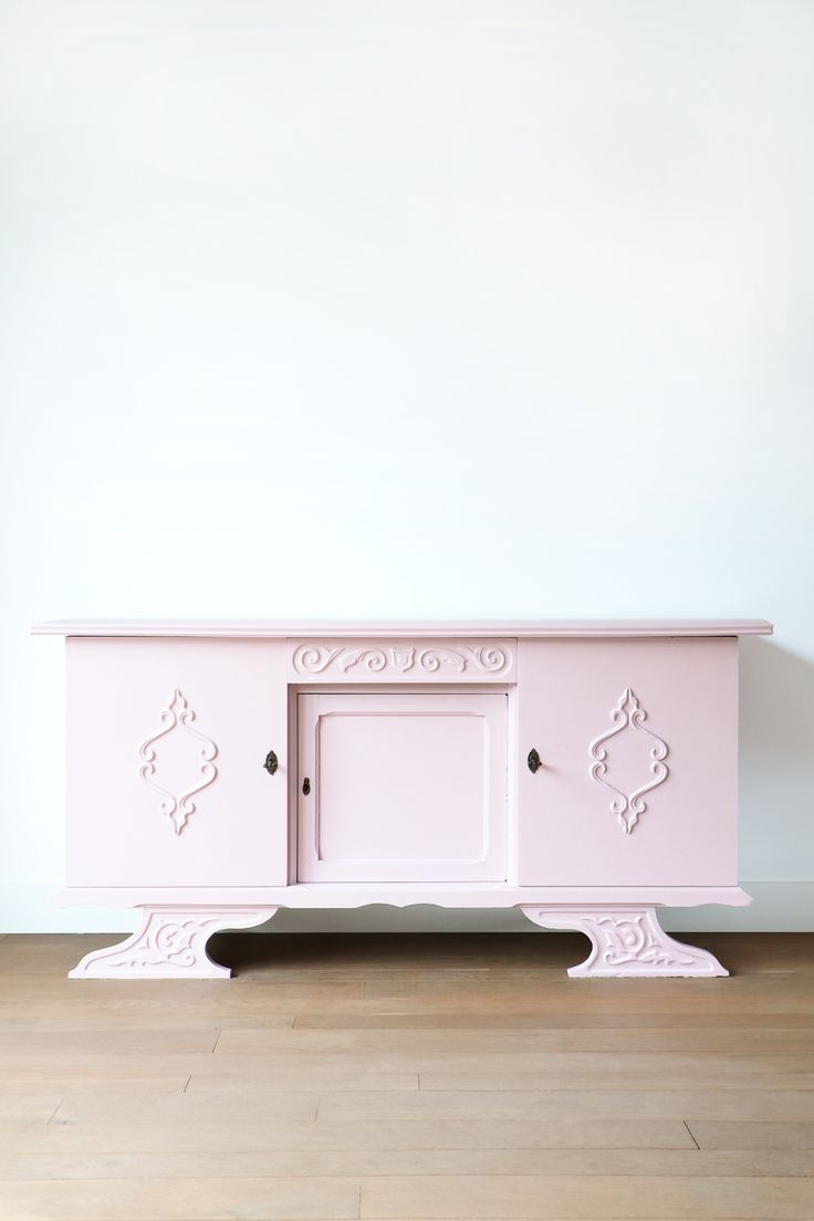 dressoir roze