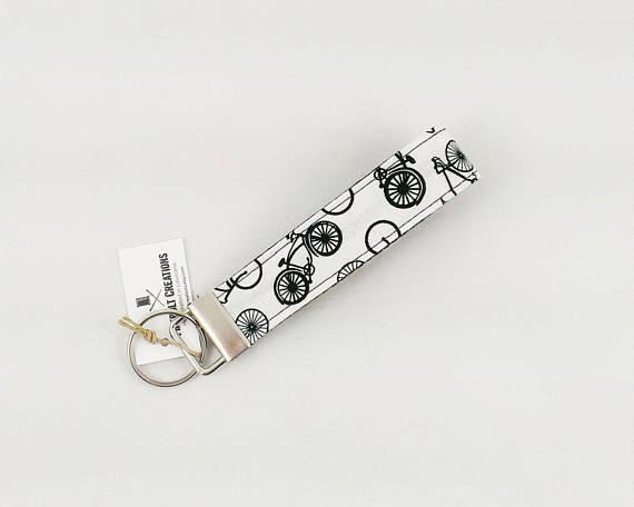 Bicycle Key Fob Bike Key Chain Cyclist Gift Ideas Bike Gift Ideas
