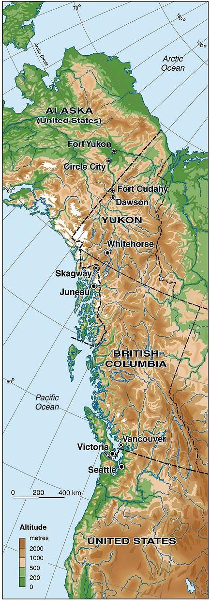 NW US West Coast Canada u0026 Alaska