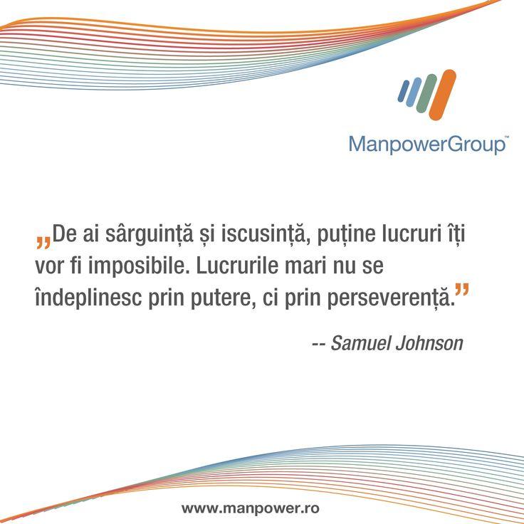 Samuel Johnson despre sarguinta.