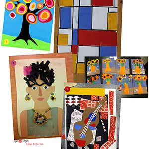 Collage Art for Kids!
