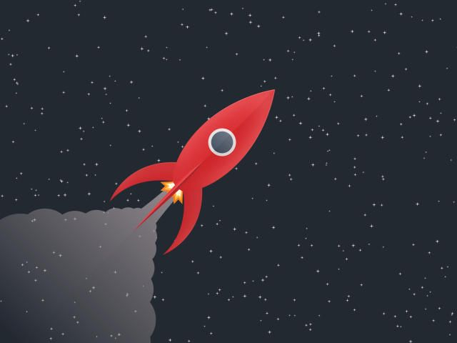 Minimalist Space Stars 4k Digitalart Artwork Rocket Minimal Rocket In Space In 2020 Wallpaper Space Minimal Wallpaper Minimalist Wallpaper