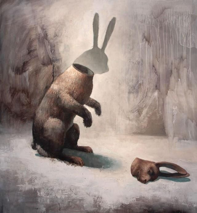 Surreal Animal Paintings by Samuli Heimonen