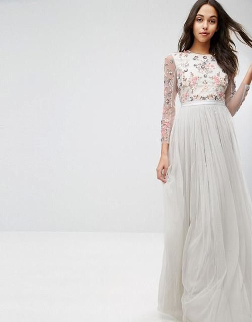 Needle & Thread Ditsy Scatter Tulle Gown [Needle & Thread FC27-03d ...