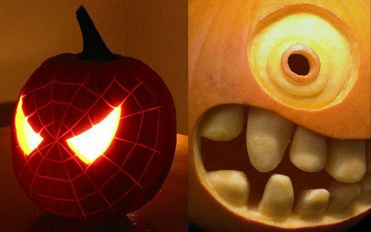 Zucche Di Halloween, Idee Per Halloween, Halloween Divertente, Halloween  Intagli Di Zucca, Cose Di Halloween