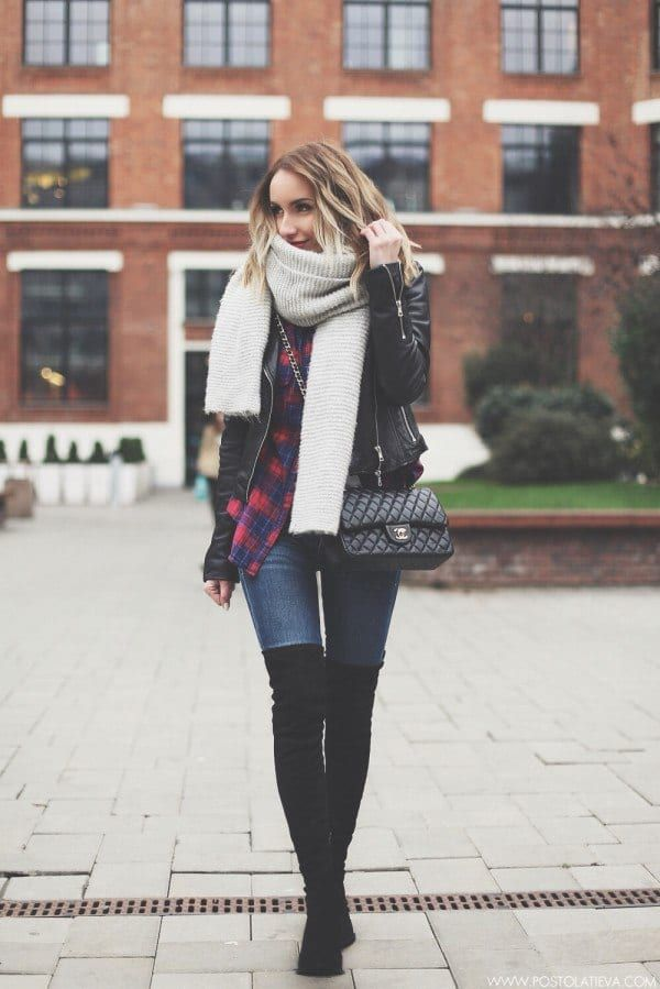 d44354517f 25 Outfits for Skinny Girls – What to Wear If You're Skinny | atuendos de  invierno | Fashion, Winter fashion, Winter outfits