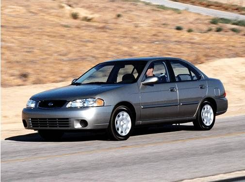 Here's a 2001 Nissan Sentra for ThrowbackThursday TBT