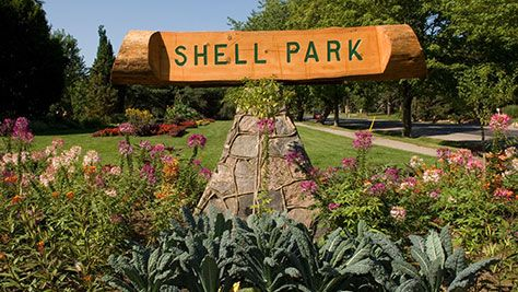 Shell Park sign