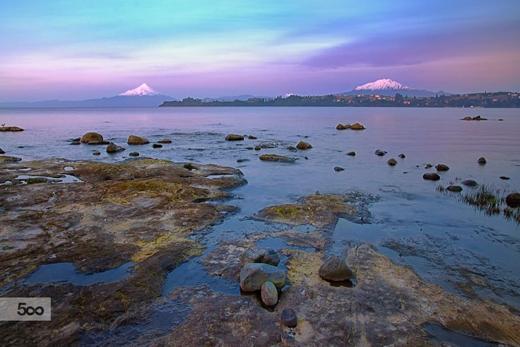 Two volcanoes from Puerto Varas - Patagonia(Chile) by Jorge Leon on 500px