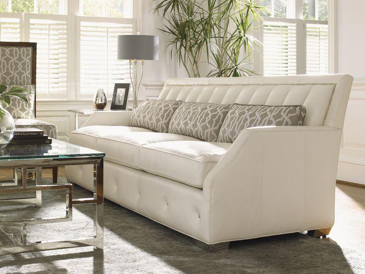 Mirage Audrey Leather Sofa   Lexington Home Brands