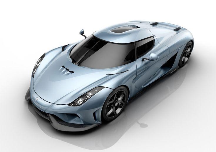 Koenigsegg Regera - a luxurious beast