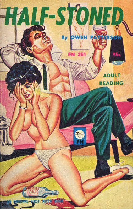 Adult Porn Books - half stoned art by Gene Bilbrew