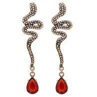 Amazing Gold Vintage Earrings by Stella Nemiro