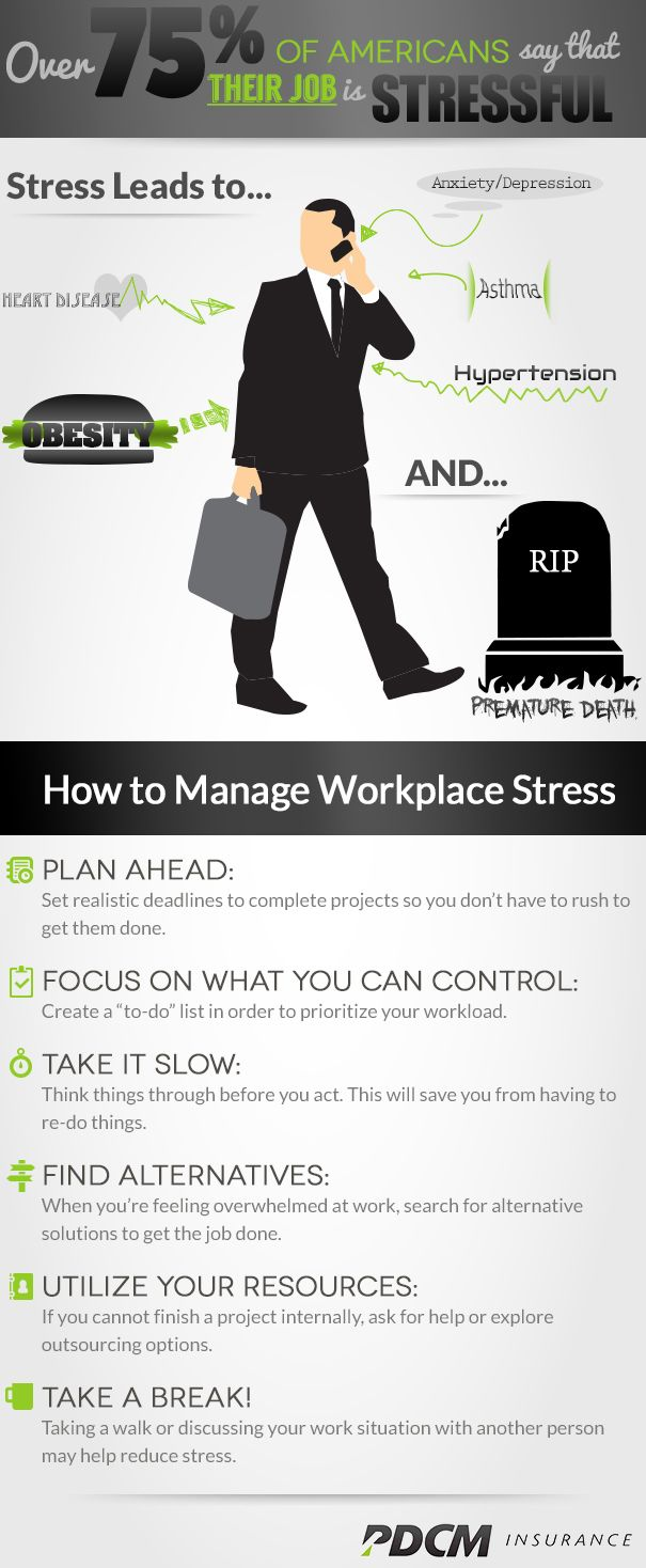 Top tips to staying stress free in the workplace infographic - Secrets To Stress Management Techniques Learning How To Manage Workplace Stress Is Important Because Stress