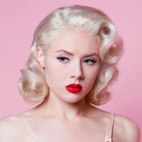 50 Pin Up Hairstyles for Retro Glam