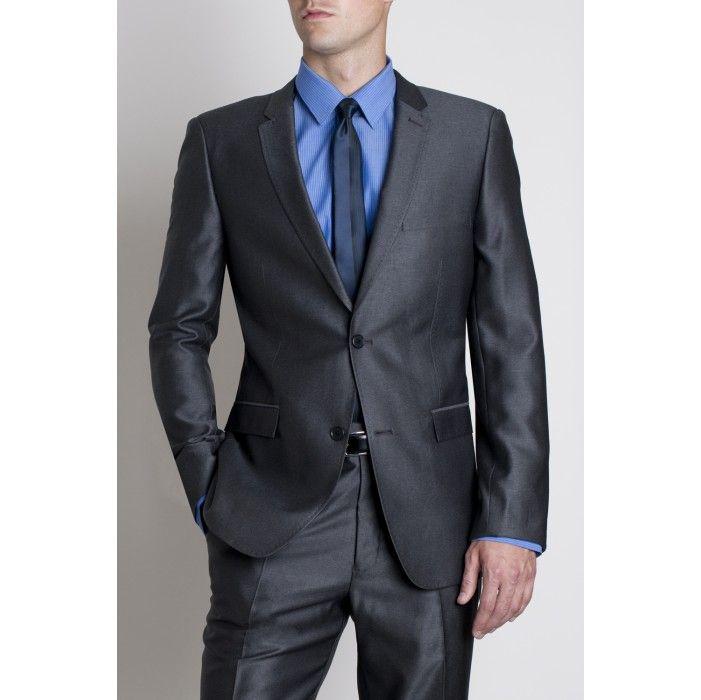 French blue shirt and steel blue suit suit ideas for Blue suit shirt ideas