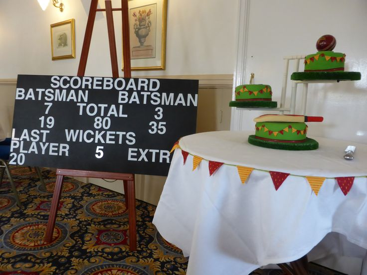 Cricket themed party