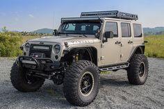 2015 Custom Jeep Wrangler Rubicon - Project Vandal - Metalcloak Overline Fenders