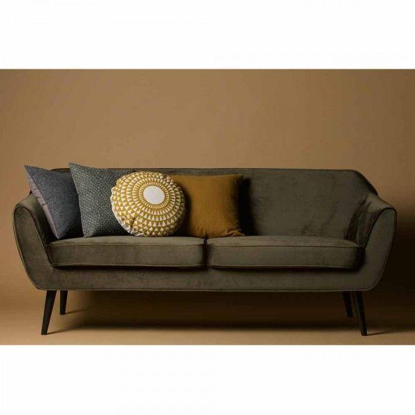 Samt Sofa Rea 2 3 Sitzer Samt Sofa Designer Couch Sofa