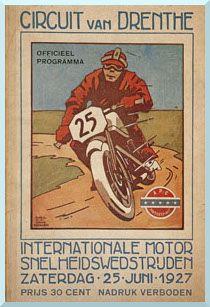 posters tt assen 25-juni-1927