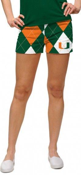 Miami Hurricanes Women's Mini Short MTO