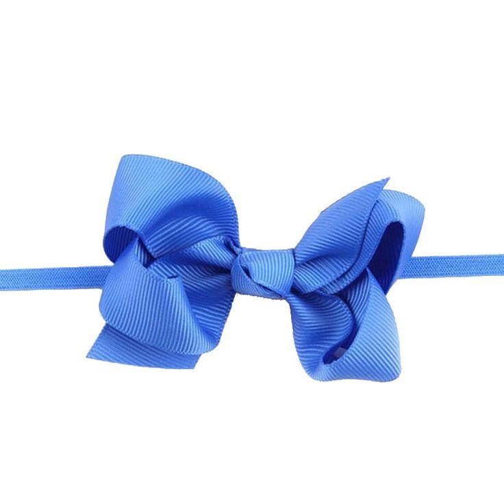 #BELLAZAARA #RIBBON #BOW #BLUE #BABY #HEADBAND