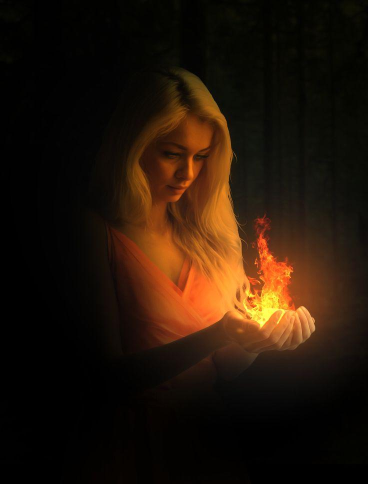 Fire in Hand, David Chodrishvili on ArtStation at https://www.artstation.com/artwork/fire-in-hand