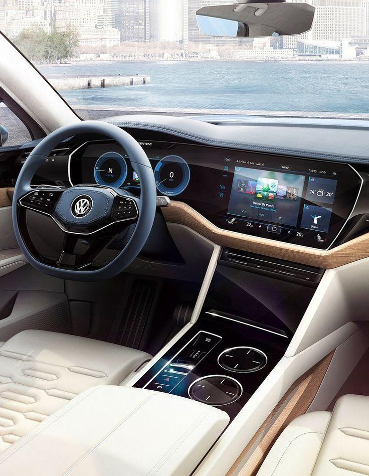 Volkswagen T-Prime Concept 2016 Cluster & Multi media