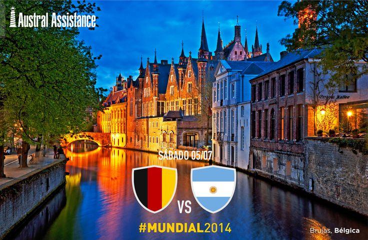 #Mundial2014 #Belgica #Argentina ---> Austral Assistance - Asistencia al viajero, aquí y en todo el mundo. www.australassistance.com
