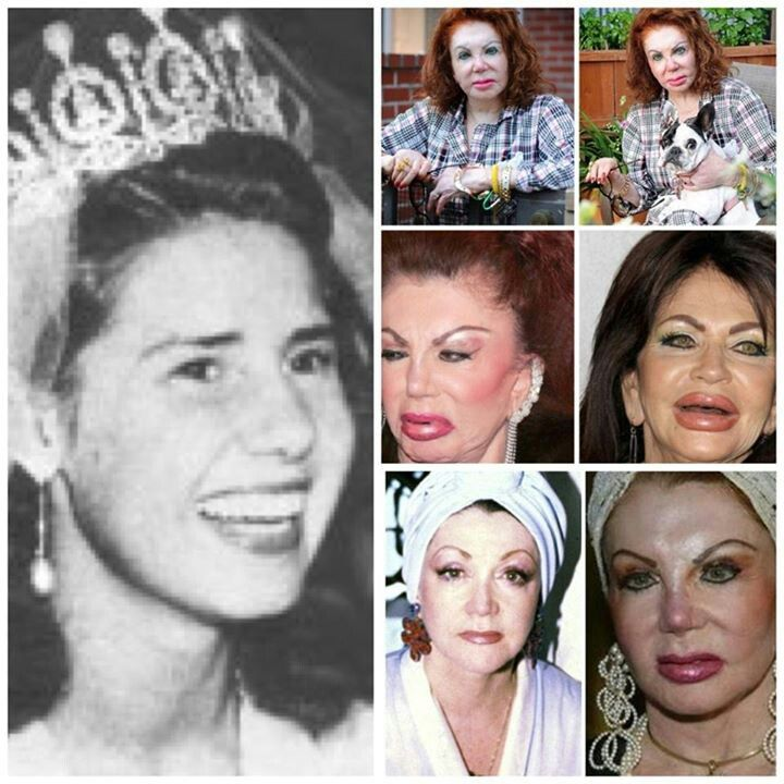 The many faces of Jackie Stallone,  Sylvester Stallones mother