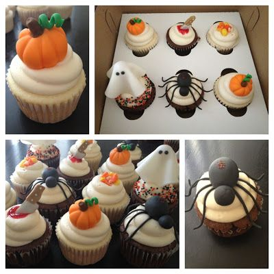 bs recipes fondant cupcakes toppers for halloween tutorials