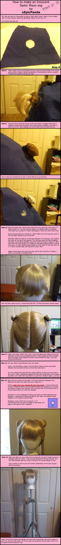 Sailor Moon Wig Tutorial Part2 by xEpicPanda.deviantart.com on @deviantART