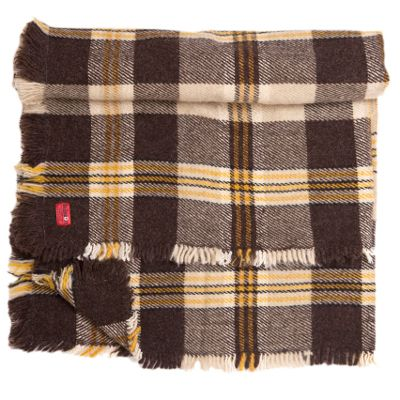 Rodopa X -traditional bulgarian woolen blanket from Rhodope mountains, available on balkanova.cz