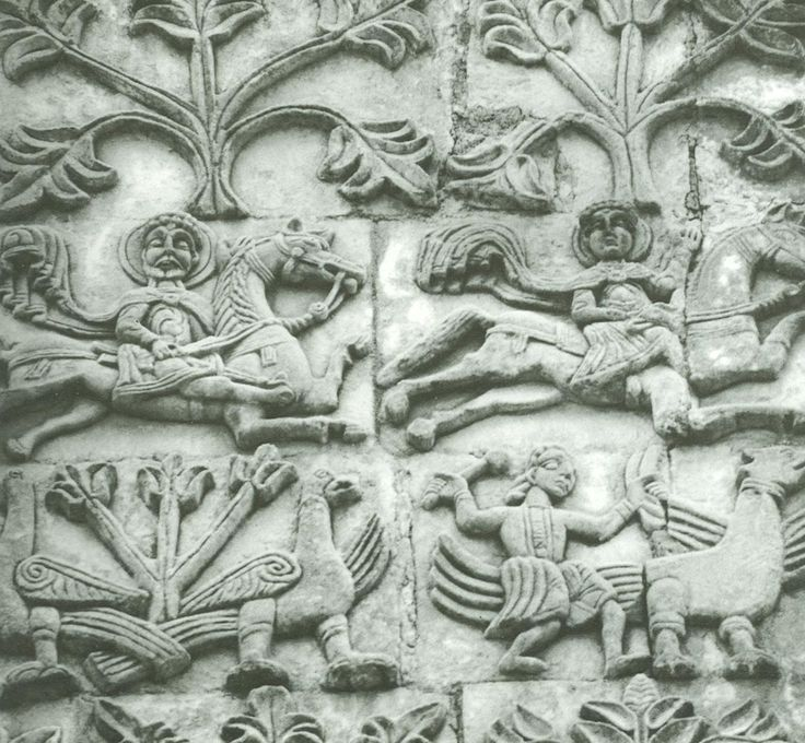 Best white stone carvings of ancient russian
