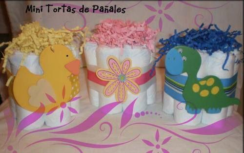 Centros De Mesa Decoracion Baby Shower, Bautizo
