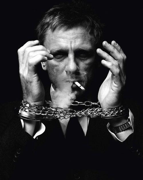 #DanielCraig by #JeanBaptisteMondino -- #BlackTie