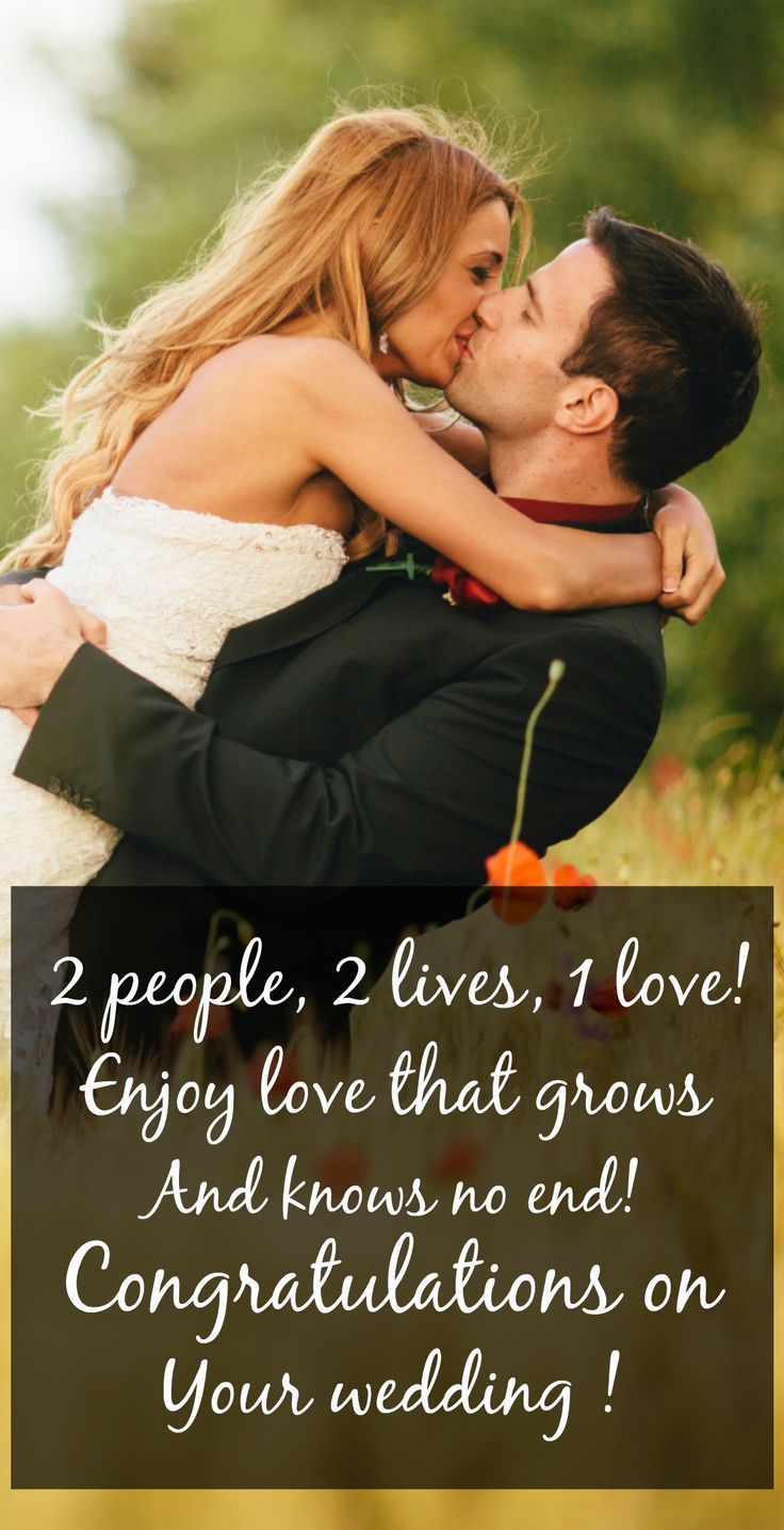 Best love Sayings & Quotes QUOTATION – Image : As the quote says – Description Busy schedule or weekend plans ruling out attending the wedding? Find just the right type of congratulatory text from our best marriage wishes messages! #love #quotes #lovequotes Sharing is...