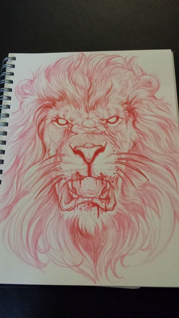 Amazing tattoo sketch from Singapore tattoo artist - Elvin Young.