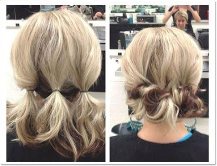 110 Beautiful Short Hair Updos For Everyday Wear And Special Occasions Short Hair Styles Easy Short Hair Tutorial Hair Styles