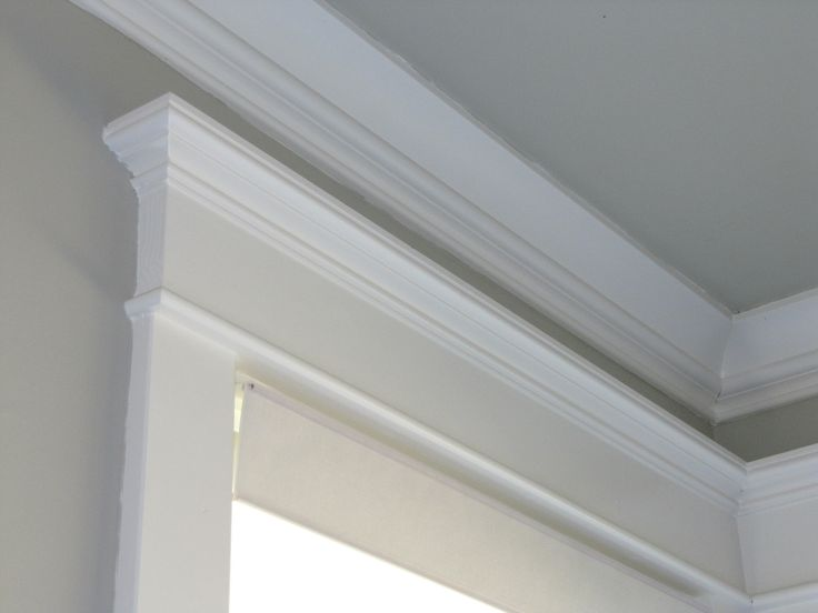 Jim made these moldings for our 1997 home to give it the cottage look