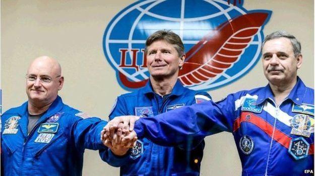 طولانیترین سفر فضایی دو فضانورد آمریکایی و روس آغاز شد!   خبرتک  #khabartek #خبرتک