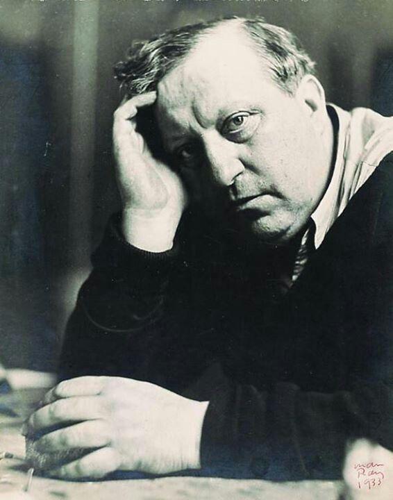 Fauvist Andre Derain (1880 - 1954), French painter, sculptor, printmaker, illustrator and designer.