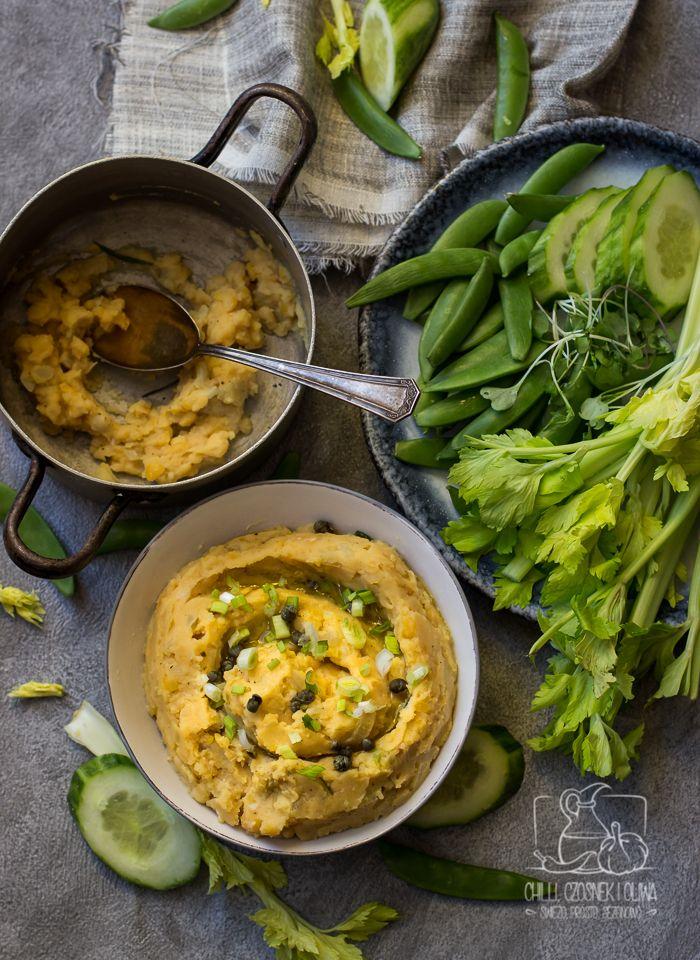 Pasta z grochu łuskanego na kanapki / Chilli, Czosnek i Oliwa Split pea dip