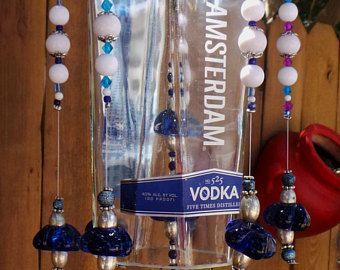 Carillón de viento de botella de Vodka de reciclado New Amsterdam
