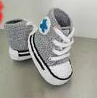 Blue converse, Baby boy cribs and Baby sneakers on Pinterest