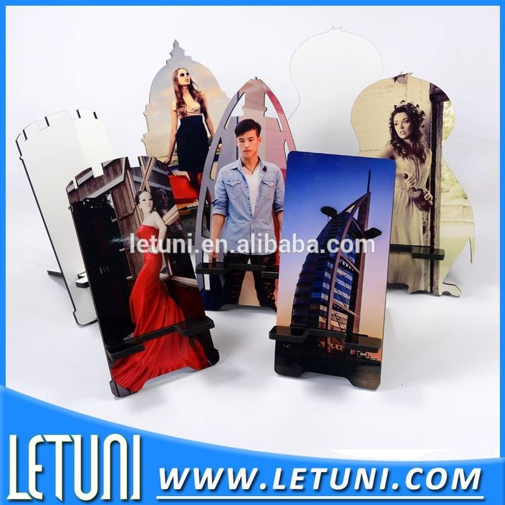 Sublimation Wooden Mobile Phone Stand Holder